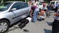 SİLİVRİ ADLİYESİ - Motosiklete Çarpıp Kaçan Sürücü, Polise Yakalandı