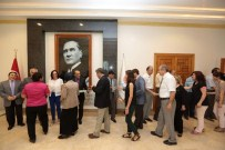 BILGE AKTAŞ - Eskişehir Valilik Personeli Bayramlaştı