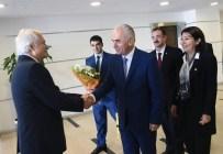 YAŞAR SEYMAN - AK Parti'nin ilk ziyareti CHP'ye