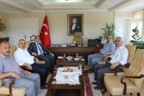 ALI ERDOĞAN - Tosya Kaymakamı Ve Belediye Başkanından Kargı Ziyareti