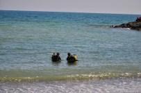 Trabzon'da Denizde Kaybolan Kişi Aranıyor