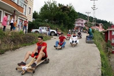 3. 'Rally İskefiye' Bilyeli Araba Yarışları Nefes Kesti