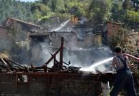 Bilecik'te Yangın Açıklaması 4 Yaralı
