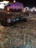 HASAN BOLAT - Çorum'da Otomobil Devrildi Açıklaması 1 Ölü