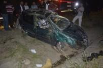 HASAN BOLAT - Kontrolden Çıkan Otomobil Takla Attı Açıklaması 1 Ölü