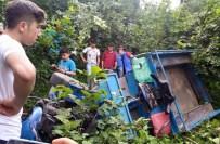 FIZME - Tarım Aracı Devrildi Açıklaması 1 Ölü, 3 Yaralı