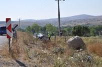 Balıkesir'de Trafik Kazası Açıklaması 1 Yaralı