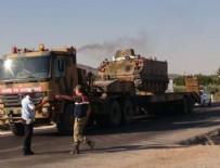 ASKERİ SEVKİYATI - Suriye sınırına askeri sevkiyat başladı