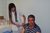 DİFTERİ - Maski Personeline Aşı Kampanyası