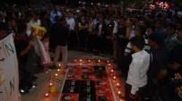 BATMAN BELEDIYE BAŞKANı - Suruç'taki Terör Saldırısında Hayatını Kaybeden 32 Kişi İçin Batman'da Anma Etkinliği Düzenlendi