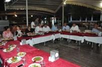 TURGUT SUBAŞı - Yüzbaşı Sadık Tatar'a Veda Yemeği