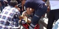 ÇAYKARA CADDESİ - Kazada Yaralanan Çocuk Hüngür Hüngür Ağladı
