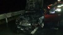 SARıKEMER - Söke-Bodrum Yolundaki Araç Yangını Korkuttu