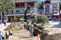 KOZCAĞıZ - Kozcağız'da Alt Yapıdan Sonra İçme Suyu Hattı Da Yenileniyor