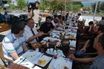 Bolu'da Görev Yapan Gazeteciler Kahvaltıda Bir Araya Geldi