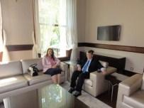 ERŞAT HÜRMÜZLÜ - 11. Cumhurbaşkanı Abdullah Gül'ün Başdanışmanı Erşat Hürmüzlü Sankon Genel Başkan Yardımcısı Oldu
