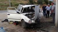 AHıLı - Kırıkkale'de Trafik Kazası Açıklaması 5 Yaralı