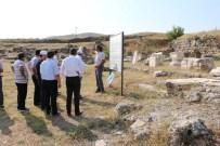 Vali Özkan, Pisidia Antiocheia Antik Kenti Gezdi