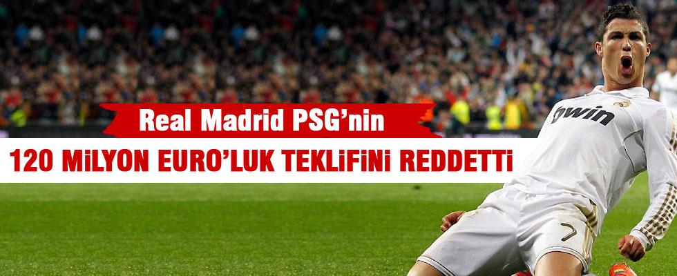 120 milyon euro'luk Ronaldo teklifini reddetti