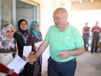 Mecitözü'nde Sebze Yetiştiriciliğini Bitiren Kursiyerlere Sertifika