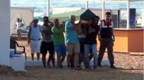 ÇEKEN AKINTI - Denizde Boğulan Babasını Kaybeden Kızın Feryadı Yürek Burktu