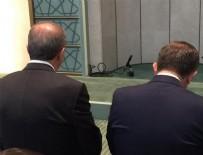 ERTAN AYDIN - Erdoğan ve Davutoğlu Cuma namazını beraber kıldı