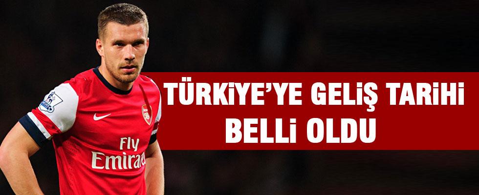 Lukas Podolski yarın Türkiye'de