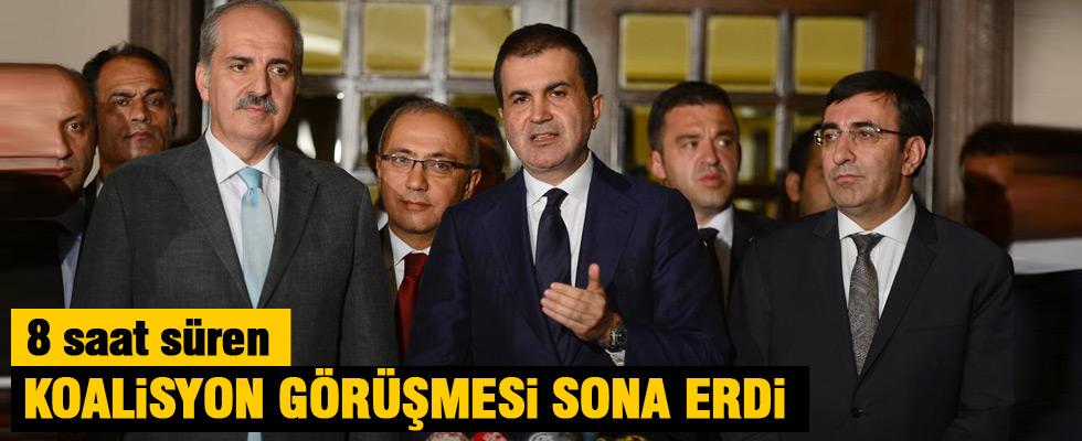 AK Parti ve CHP koalisyon görüşmesi sona erdi