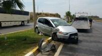 DIANA - Antalya'da Trafik Kazası Açıklaması 1 Yaralı
