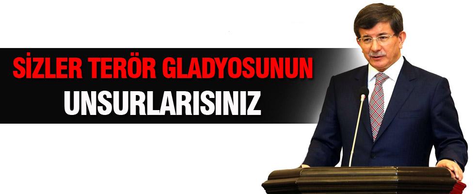 Davutoğlu'ndan Demirtaş'a 'Gladyo' yanıtı