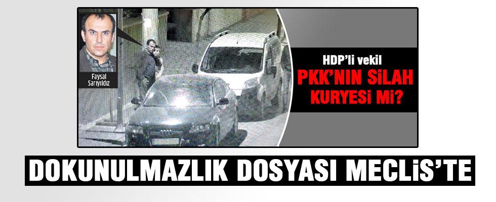 HDP'li Faysal Sarıyıldız'ın dokunulmazlık dosyası TBMM'de