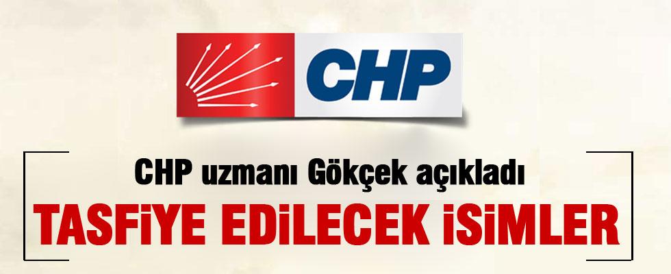 Gökçek CHP'de listeye giremeyecek isimleri açıkladı