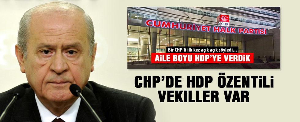 Bahçeli hem CHP'yi hem HDP'yi eleştirdi