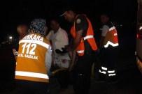BALGAT - Başkent'te Trafik Kazası Açıklaması 1 Yaralı