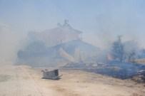 Elazığ'da Korkutan Yangın Kontrol Altına Alındı