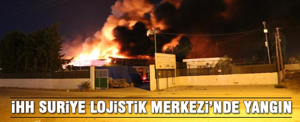 İHH merkezinde yangın