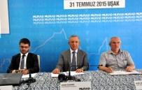 AHMET AKİF - Sameks Temmuz Ayı Endeksi Uşak'ta Açıklandı