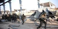 HIZBULLAH - Suriye Ordusu Ve Hizbullah Zabadani'ye Saldırı Başlattı