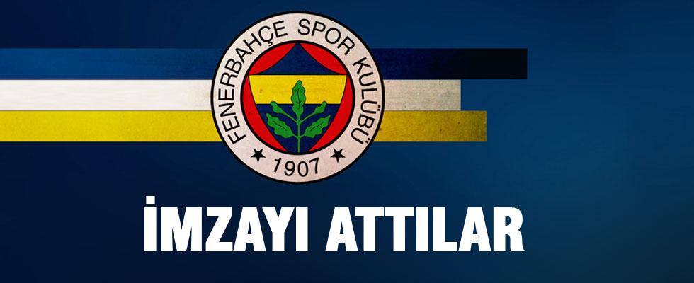 Fenerbahçe'de flaş imzalar