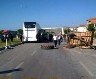 Kırıkkale'de Trafik Kazaları Açıklaması 2 Ölü, 3 Yaralı