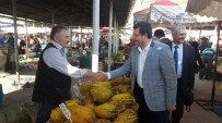 AFYONLU - MHP'li Parsak, Pazar Yerini Ziyaret Etti