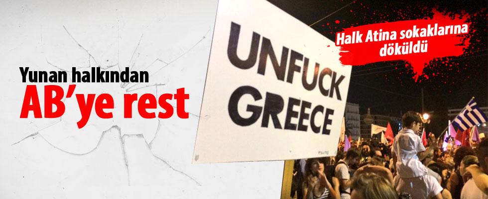 Yunanistan'da tarihi gün