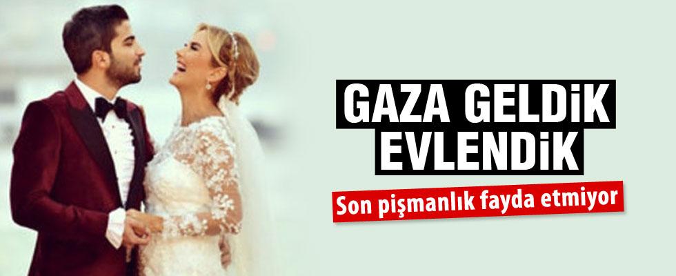Ece Erken: Gaza geldik evlendik