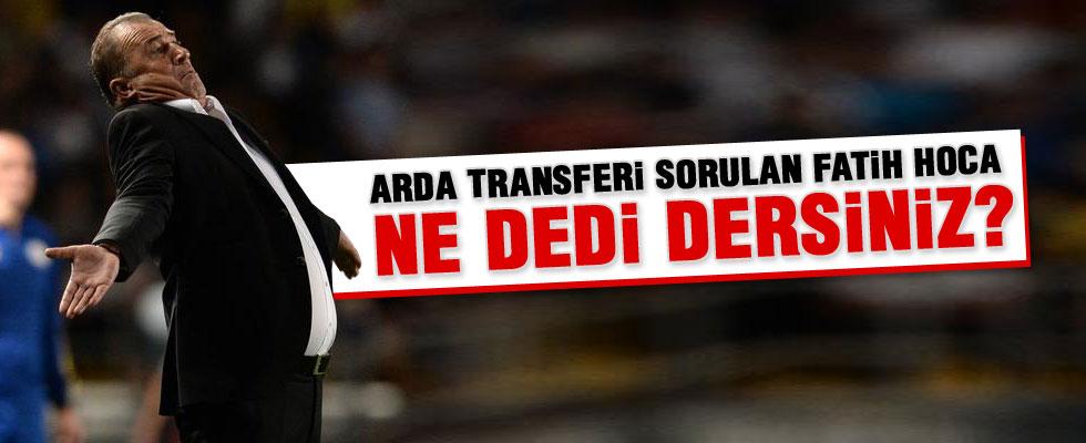 Fatih Terim, Arda Turan'ın Barcelona transferini değerlendirdi
