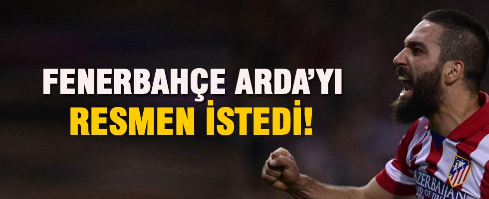 Fenerbahçe Arda Turan'ı resmen istedi