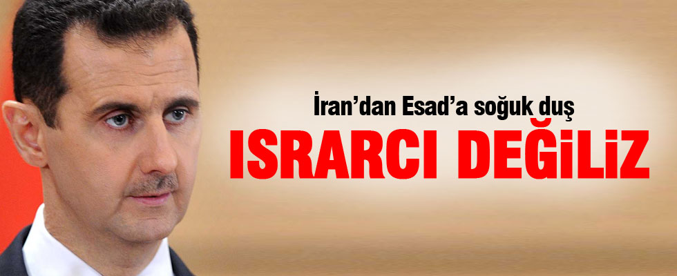 İran'dan bomba Esad açıklaması