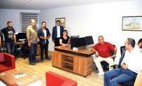 BURAK ÖZCAN - Savaş Muhabirleri GGC'de Buluştu