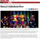 MARCA - Barca'nın Efsanevi 5'Lisi
