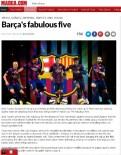 MARCA - Barça'nın Efsanevi Beşlisi