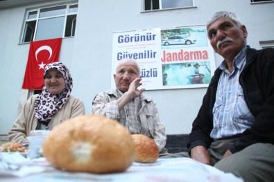 Bozkır'da Şehit Ve Gazi Ailelerine İftar Yemeği